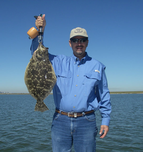 Gary Williams - Flounder,  5 lb. Sandleblanket