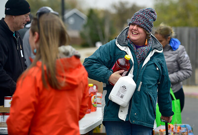 "Photos: Community Food Share ""Mobile Pantry"" in Broomfield"