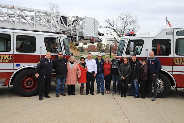 Gurnee Fire Rescue Lt Andy Wienckowski Retirement