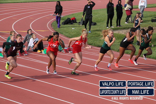 2017 Girls Duneland Athletic Conference Track & Field Championships
