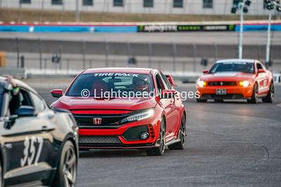 B. Dan - Red Honda Civic Type R