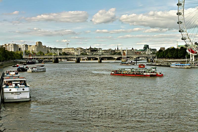 Waterloo Bridge on the Thames