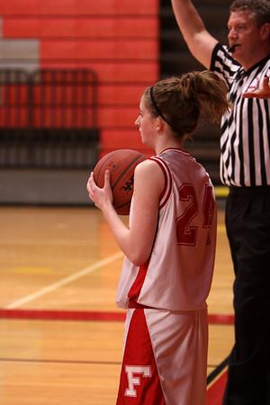 Girls Freshman Basketball - 2010-2011 - 2/15/2011 Ludington