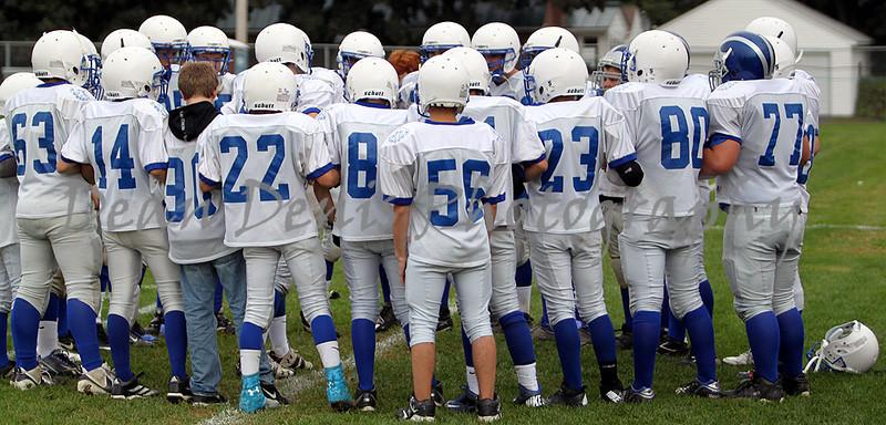 Lawrence 8th Grade Boys Football  VS Madison