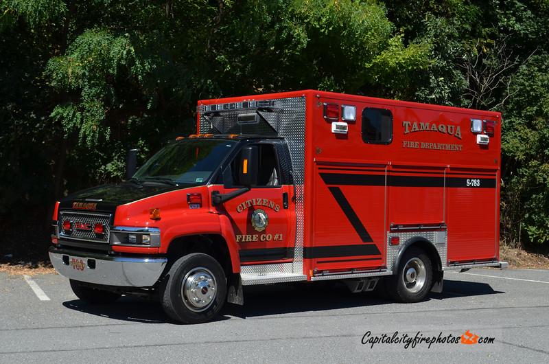 Tamaqua (Citizens Fire Co.) Squad 783: 2009 GMC/Krammes