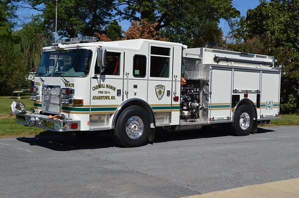 Company 14 - Carroll Manor Fire Company (Adamstown station)