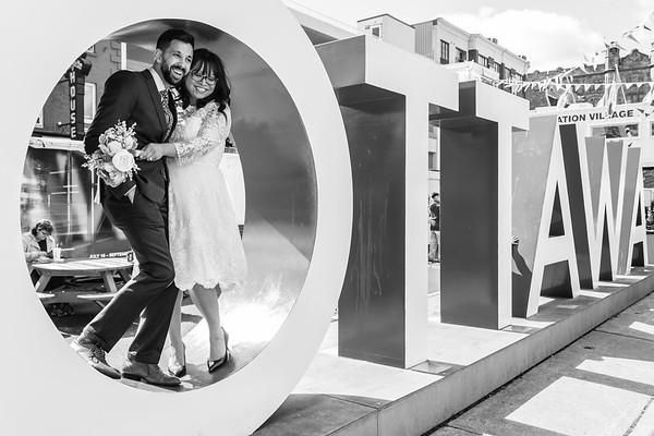 LESLIE & DOM'S WEDDING