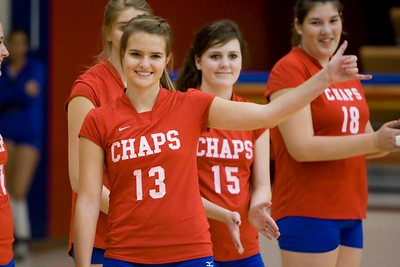 WHS JV Volleyball 2008-10-24