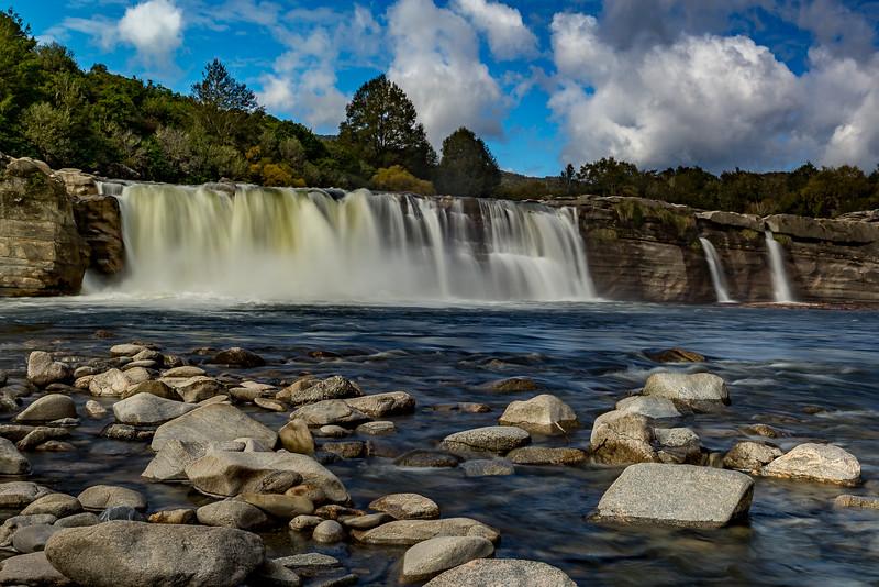 «Maruia Falls», entstanden nach dem Erdbeben von 1929
