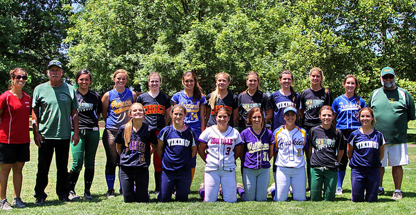 Lions Club's all-star Softball game 5/31/2014