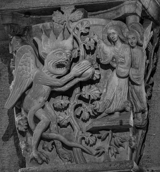 Autun, Saint Lazarus Cathedral, The First Temptation of Christ