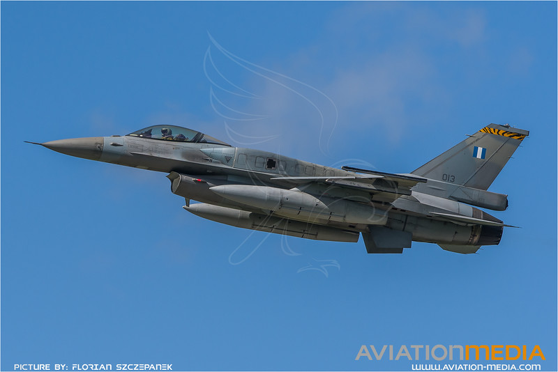 HAF 335 Mira / Lockheed Martin F-16C-52 Fighting Falcon / 013