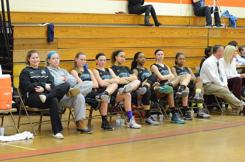 Varsity Girls Basketball Mar 4 vs Rising Sun