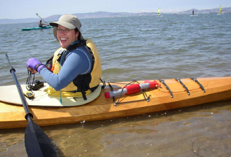 Heading back out to finish the rest of the paddle.