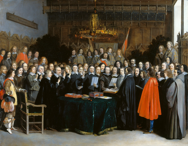 The Ratification of the Treaty of Münster