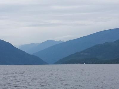 Scenery Shots of Shuswap Lakes, BC :: July 2016