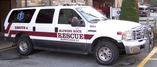 Blowing Rock Rescue Squad (Former)