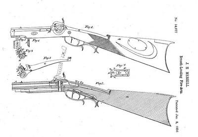 14,077 - Improvements in Firearms (January 8, 1856)