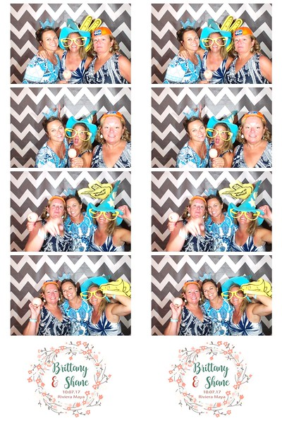 Brittany & Shane Photo Booth Strips
