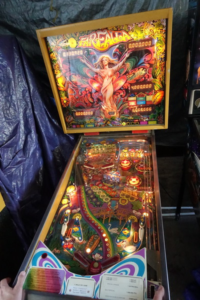 Brad's Pinball Party October 2017