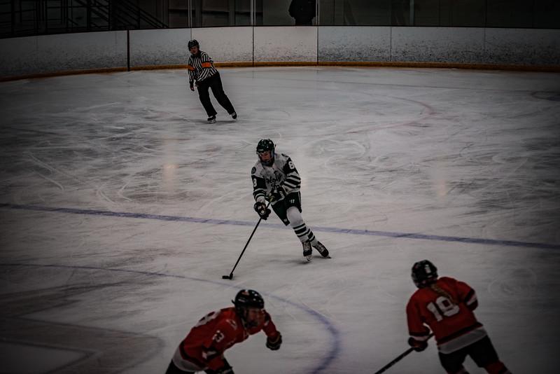 Holy Family Girls Varsity Hockey vs. Mound Westonka, 12/10/19: Maeve Kelly '22 (8)
