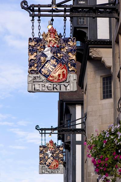 Liberty department store, London, United Kingdom