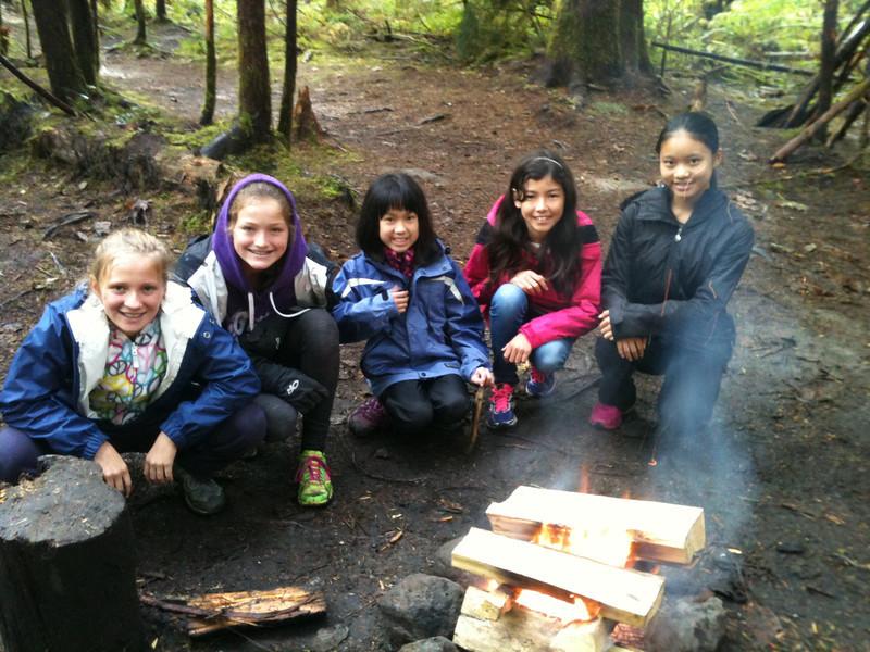Gr. 6 at Camp Summit