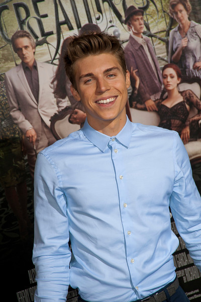 HOLLYWOOD, CA - FEBRUARY 06: Actor Nolan Funk attends the Los Angeles premiere of Warner Bros. Pictures' 'Beautiful Creatures' at TCL Chinese Theatre on Wednesday February 6, 2013 in Hollywood, California. (Photo by Tom Sorensen/Moovieboy Pictures)