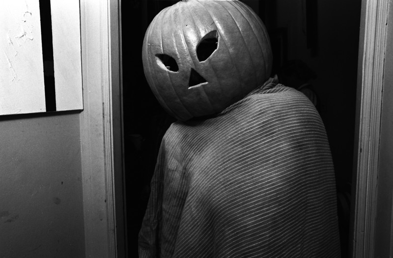 Pumpkin Man, Halloween Providence, RI (1980)