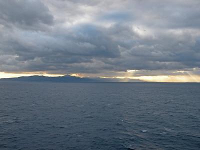 17 December (At Sea)