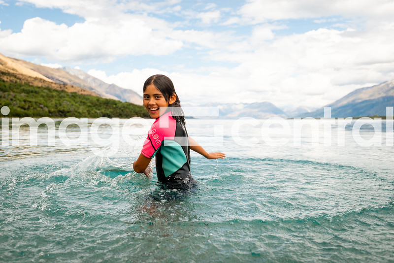 Avie Morgan Lake Wakatipu. © Copyright image by Clare Toia-Bailey / www.image-central.co.nz
