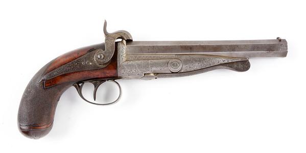 First pinfire pistol by Casimir Lefaucheux