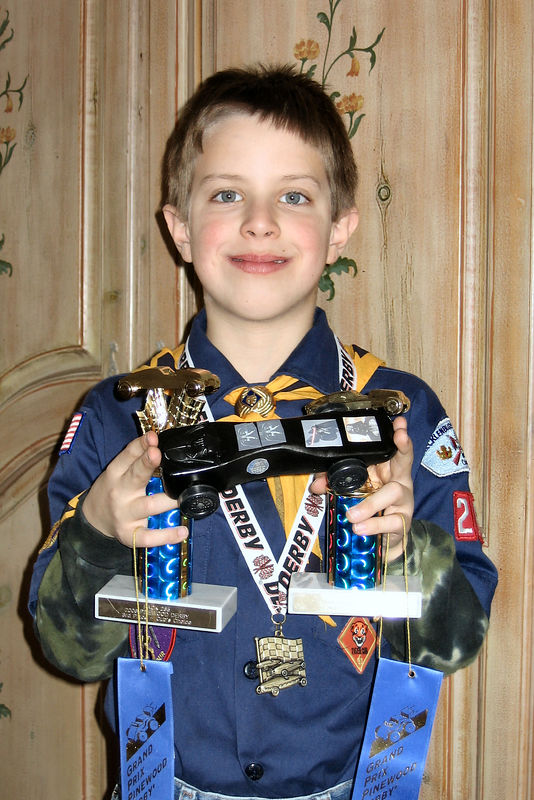 January, 2006 - Pinewood Derby