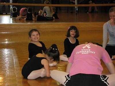 Hailey at Ballet Class
