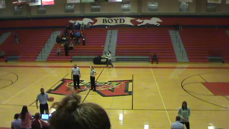 Bailadora Kick Routine BBall Game 1/23/2015