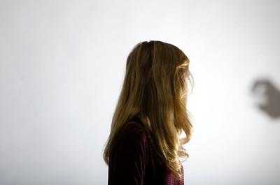 Darkness Behind Her