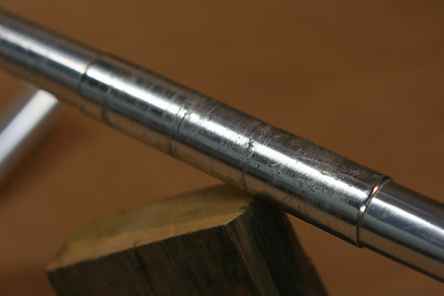 3TTT ergnomic road bars - 44cm silver