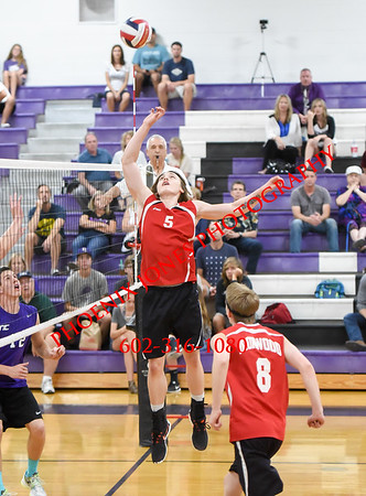 5-3-2016 - Ironwood at Northwest Christian (Boys Volleyball)