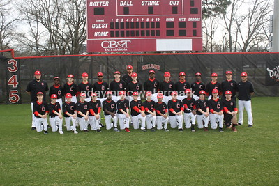 2017 CHS Baseball Team Pics