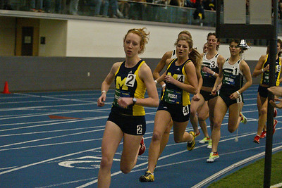 Mile Run - 2013 UM vs MSU Indoor Meet