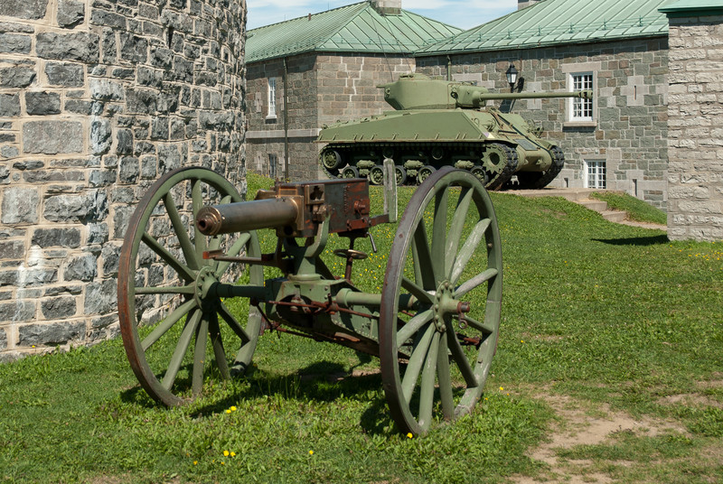 Citadelle of Quebec City in Quebec, Canada