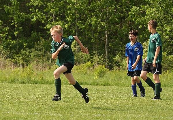 Ryan Soccer Game