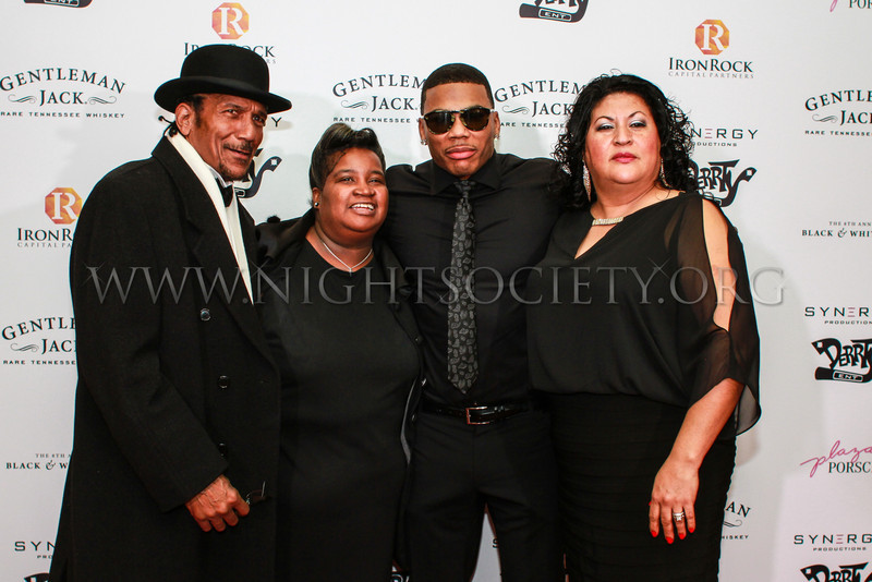 Nelly's 8th Annual Black And White Ball At the Four Seasons (Red Carpet) #NellyBWB 12-22-2013