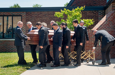Roger DiPaolo burial