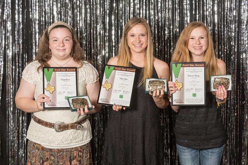 4-H Gold Star Award Winners