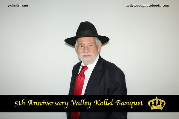5th Anniversary Valley Kollel Banquet