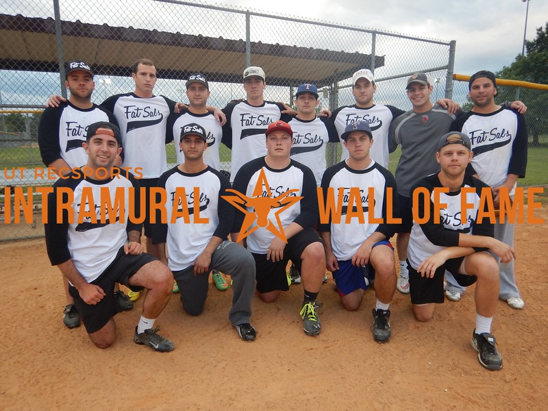 Spring 2016 Softball Men's Runner-Up ZBT