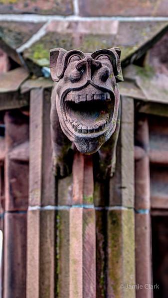 Lughing Gargoyle. Basel, Switzerland