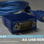 SKU: AG-USB/SERIAL, AM.CO.ZA Blue USB to Serial/COM Converter Cable for Windows, Apple Mac and Linux
