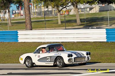 Sebring - Saturday Morning Practice & Vintage Car Exhibition Lap